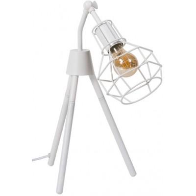 Lámpara sobremesa Navia blanco