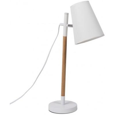 Lámpara sobremesa Deva blanco