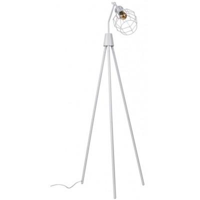Lámpara de suelo Serpis blanco