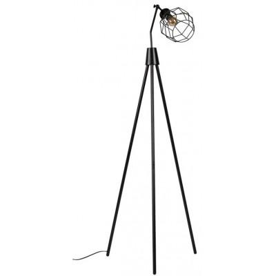 Lámpara de suelo Serpis negro